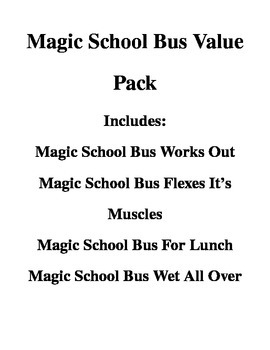 Magic School Bus Pack