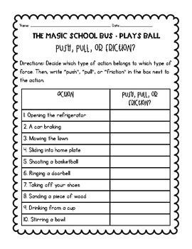 Magic School Bus Plays Ball