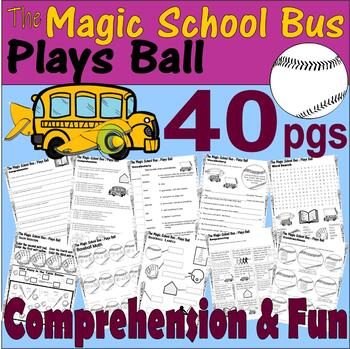 Magic School Bus Plays Ball * Book Companion Reading Comprehension Literacy Unit