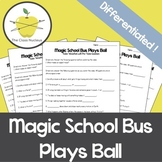 Magic School Bus Plays Ball Video Worksheets + Bonus Lab Activity