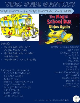Magic School Bus Question Guide - Growing Bundle