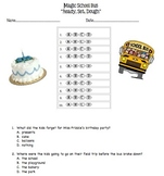 Magic School Bus Ready Set Dough Multiple Choice Questions