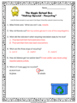 """Recycling Magic School Bus """"Holiday Special"""" Video Response Form Quiz"""