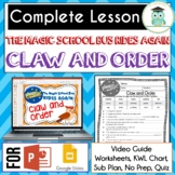 Magic School Bus Rides Again CLAW AND ORDER Video Guide BI