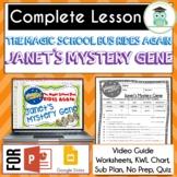 Magic School Bus Rides Again JANETS MYSTERY GENE Video Gui