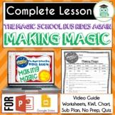 Magic School Bus Rides Again MAKING MAGIC Video Guide, Wor