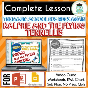 Magic School Bus Rides Again RALPIE AND THE FLYING TENNELLIS Video Guide MATH