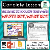 Magic School Bus Rides Again WASTE NOT WANT NOT  Video Gui