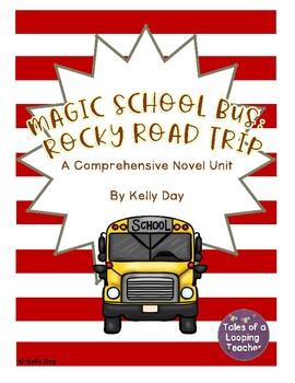 Magic School Bus Rocky Road Trip Novel Unit