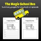 Magic School Bus Summary Worksheet
