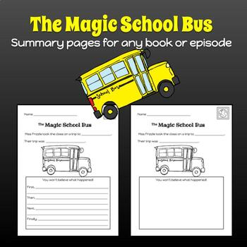Magic School Bus Summary Worksheet