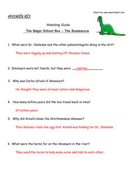 "Magic School Bus ""The Busasaurus"" - Dinosaurs"