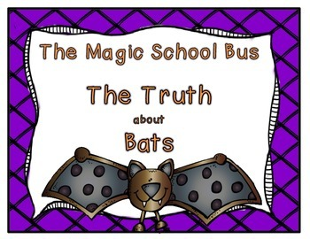 Magic School Bus The Truth About Bats Worksheets & Teaching