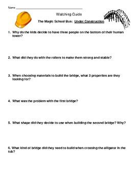 "Magic School Bus ""Under Construction"" Building Bridges"