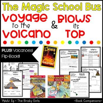 Magic School Bus Volcanoes SUPER BUNDLE