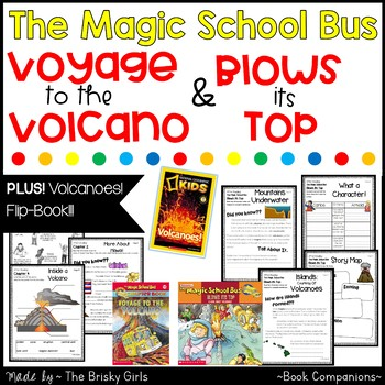 Magic School Bus Volcanoes SUPER BUNDLE