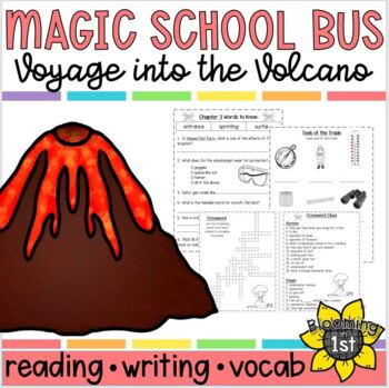 Magic School Bus Voyage to the Volcano Reading Response Activities / Unit