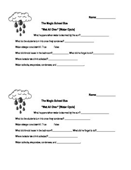 Magic School Bus Wet All Over (Water Cycle)
