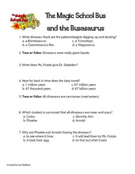 Magic School Bus and the Busasaurus