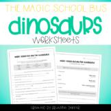 Magic School Bus and the Busasaurus - Dinosaurs Worksheets