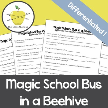 Magic School Bus in a Beehive + Bonus Activity