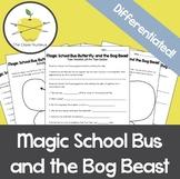 Magic School Butterfly and the Bog Beast Video Worksheets + Bonus Activities