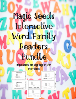 Magic Seeds Interactive Word Family Readers Mini Bundle