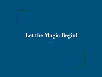 Magic Sentences {Professional Development}