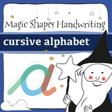 Magic Shapes Handwriting: cursive letters: Complete Alphabet