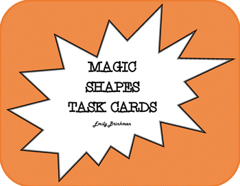 Magic Shapes Task Cards