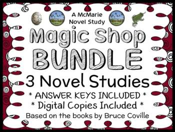 Magic Shop Bundle (Bruce Coville) 3 Novel Studies / Comprehension : Books 1 - 3