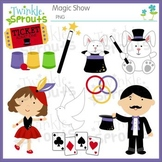 Magic Show Clipart