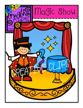 Magic Show {Creative Clips Digital Clipart}