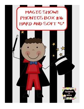 """Magic Show - Phonics Box #16 - Hard and Soft """"g"""""""