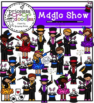 Magic Show (The Price of Teaching Clipart Set)