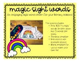 Magic Sight Words