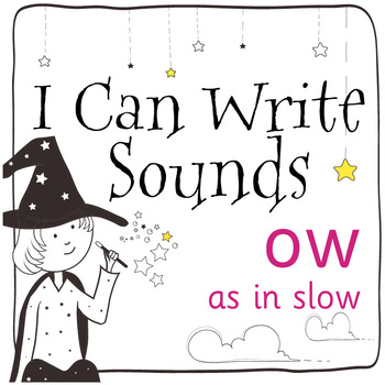 Magic Sounds Phonics: Set 11: ow (as in slow)