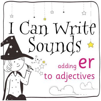 Magic Sounds Phonics: Set 34: adding -er to adjectives