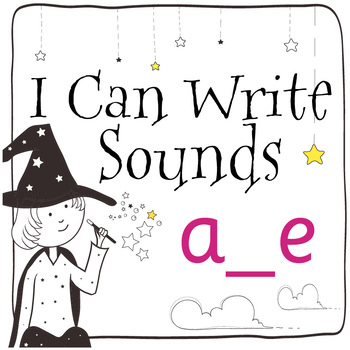 Magic Sounds Phonics: Set 40: words  with a_e (as in lane)