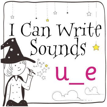 Magic Sounds Phonics: Set 44: words  with u_e (as in cube)