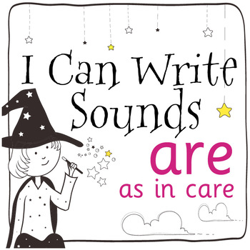 Magic Sounds Phonics: Set 46: words  with are (as in care)