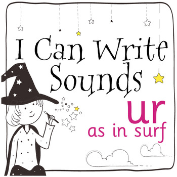 Magic Sounds Phonics: Set 47: words  with ur (as in surf)