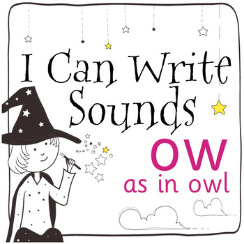 Magic Sounds Phonics: Set 48: words  with ow (as in owl)