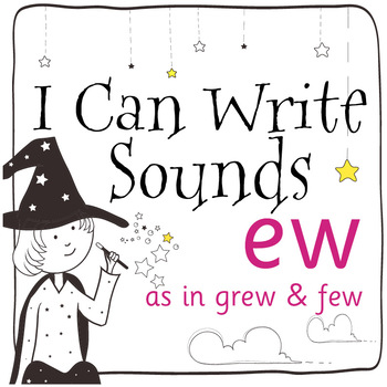 Magic Sounds Phonics: Set 51: words  with ew (as in grew & few)