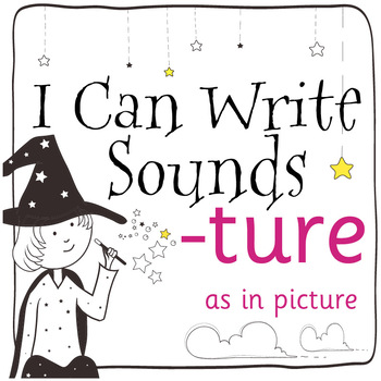 Magic Sounds Phonics: Set 55: words  with -ture (as in picture)