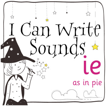 Magic Sounds Phonics: Set 61: words  with ie (as in pie)