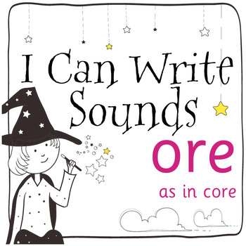 Magic Sounds Phonics: Set 63: words  with ore (as in core)