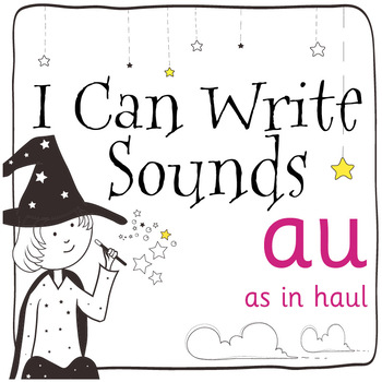 Magic Sounds Phonics: Set 64: words  with au (as in haul)