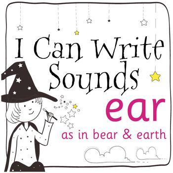 Magic Sounds Phonics: Set 65: words  with ear (as in bear & earth)