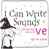 Magic Sounds Phonics: Set 68: words  that end with ve (as